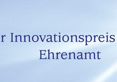 Bayerische Innovationspreis Ehrenamt 2020